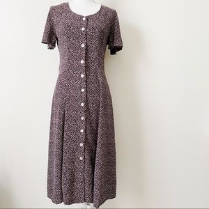 Vintage Ms Choice California Ditsy Floral Dress